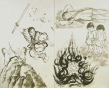 el origen de la muerte segun la mitologia japonesa