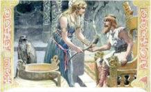 el robo del aguamiel mitologia nordica