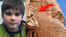 nino genio revela que la humanidad cambiara cuando se descubran los secretos de la gran esfinge de giza