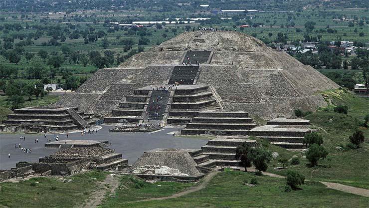 Siete pirámides en América (Norteamérica y Sudamérica), tan importantes como las de Egipto
