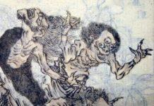 demonio oni heraldo cruel de la enfermedad y la desgracia en el folclore japones
