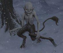 kallikantzaroi traviesos duendes nocturnos emergen del subsuelo solo durante los doce dias de navidad