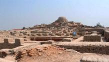 la antigua ciudad de mohenjo daro y sus vestigios de una guerra nuclear