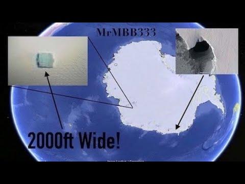 Enormes estructuras descubiertas en la Antártida y el Atlántico: escenarios de lo que pueden ser (video)
