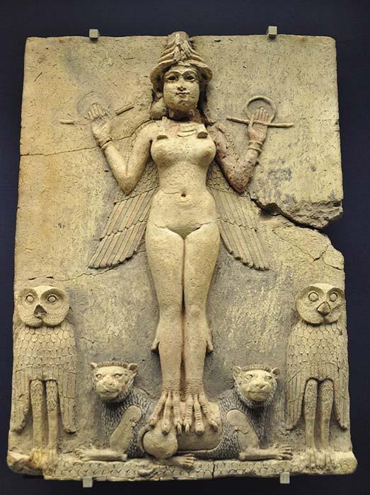 Ereshkigal: La Misteriosa y poderosa diosa mesopotámica del Inframundo y su conexión #anunnaki