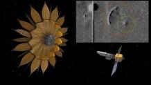 la gigantesca nave captada por la nasa es el telescopio espacial starshade lanzado en secreto