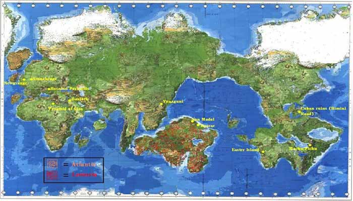 Lemuria y Atlantis: continentes perdidos y origen de las primeras civilizaciones