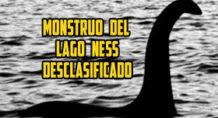 monstruo del lago ness desclasificado