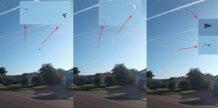 ovnis triangulares filmados en un portaaviones estadounidense justo antes del huracan irma