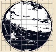 rutas a la tierra hueca reveladas en un posible mapa nazi de la antartida