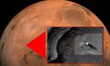 se ha descubierto una estructura alienigena en la superficie de marte