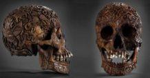el misterio de la impresionante calavera tallada del tibet 3