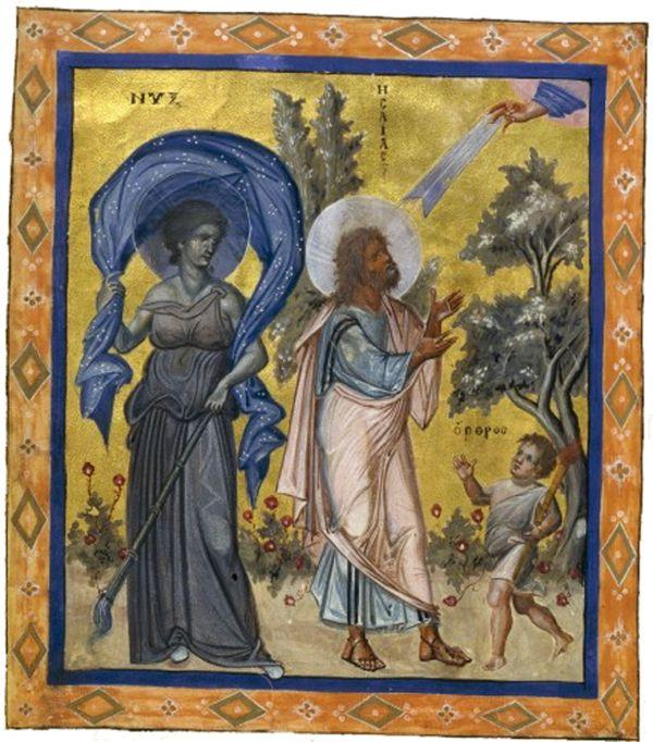 Antiguos dioses primordiales: Cuando la noche dominaba el mundo