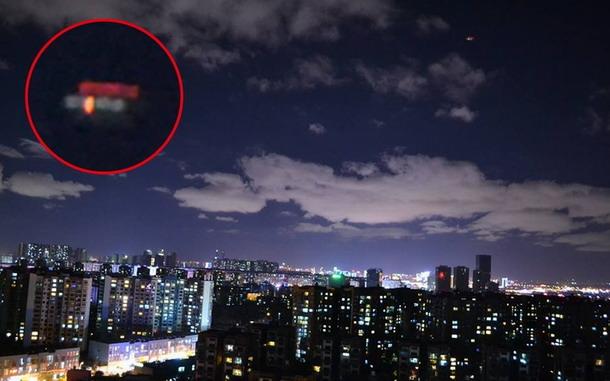Increíble OVNI captado en la ciudad de Kunming, China