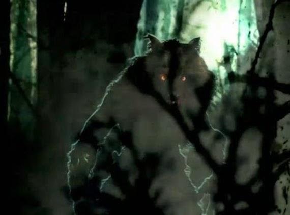 El misterioso hombre lobo del gran pantano triste
