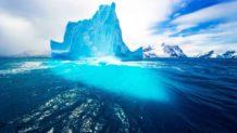 que se esconde debajo de los glaciares de la antartida