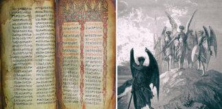 el libro de enoc historia de los nephilim los angeles caidos y como dios limpio la tierra