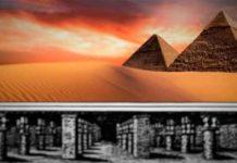 la ciudad perdida bajo las piramides de giza