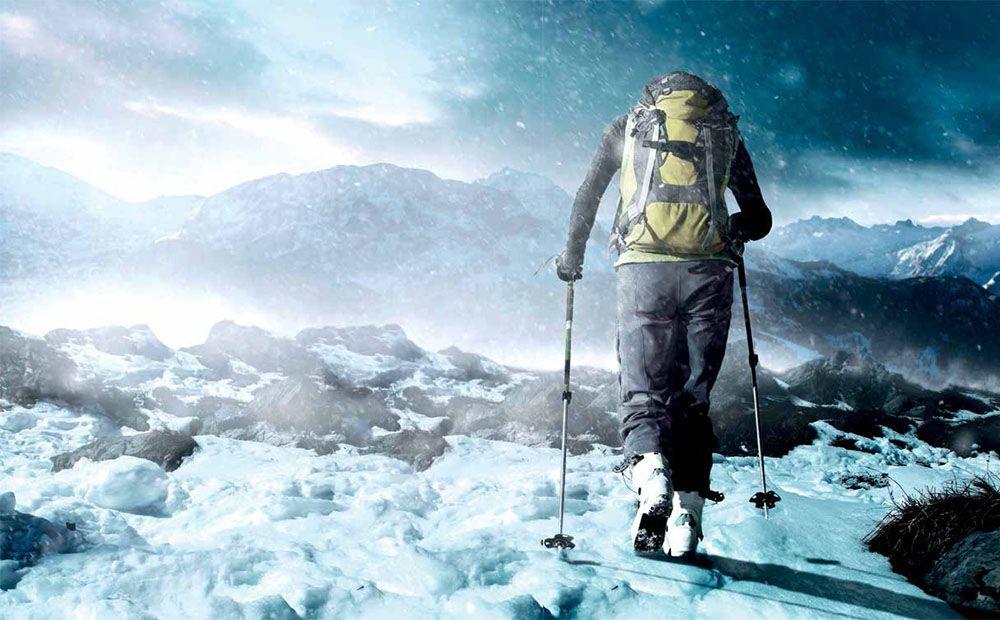 Alpinistas salvados por lo sobrenatural