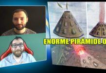aparecio una enorme piramide ovn