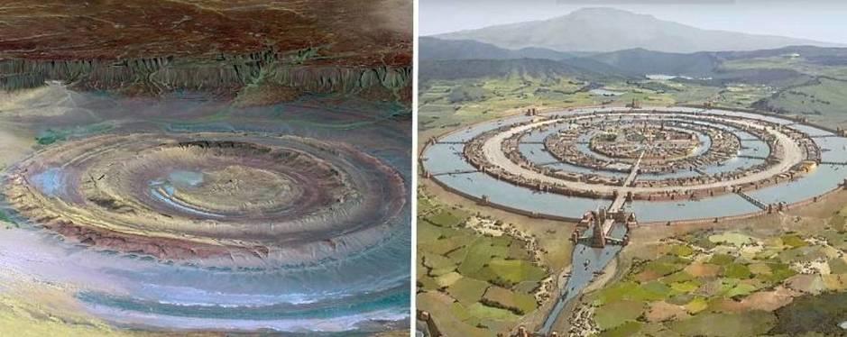 El Ojo del Sahara: La misteriosa estructura del desierto que pudo ser la Atlántida