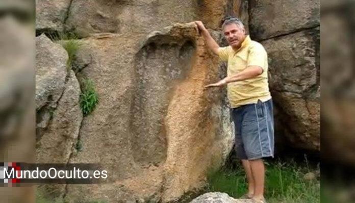 la huella de un gigante en mpuluzi la huella de dios