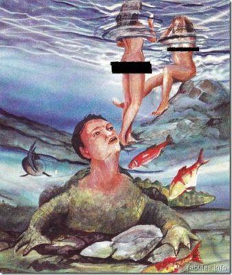 la leyenda del hombre caiman