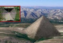 piramide gigante es descubierta en los montes urales