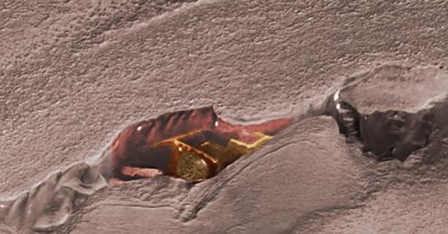 """Se analizan los restos de un antiguo """"STARGATE"""" encontrado en Marte (VIDEO)"""