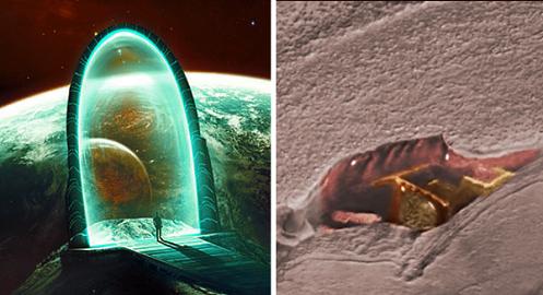 se analizan los restos de un antiguo stargate encontrado en marte video