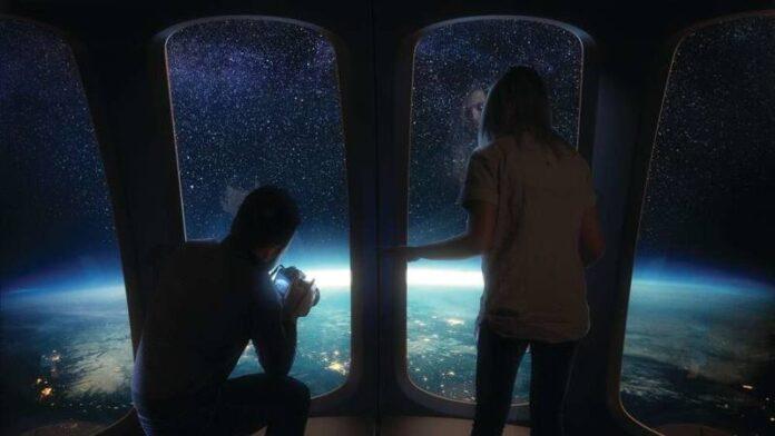 terraplanistas su momento ha llegado turistas podrian viajar pronto a la estratosfera en un globo espacial
