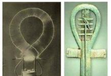 tesla habria descubierto el mismo artefacto que nos muestran todas estas imagenes del antiguo egipto