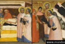 un milagro de la antigua medicina transplante de pierna documentado en una pintura medieval