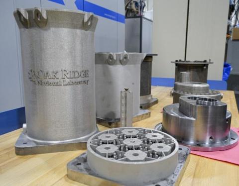 un reactor nuclear impreso en 3d