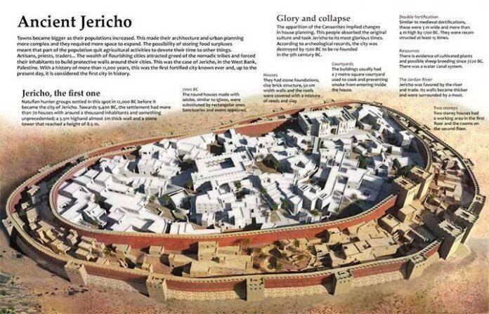 la muralla mas antigua del mundo 5 300 anos antes de la piramide de egipto mas antigua
