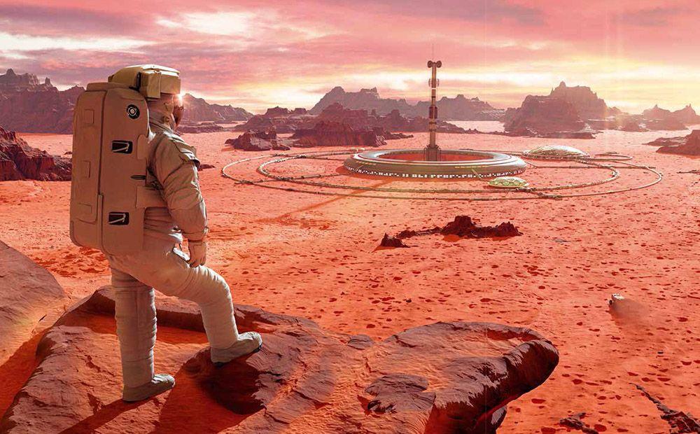 Los planes de las élites para huir a Marte