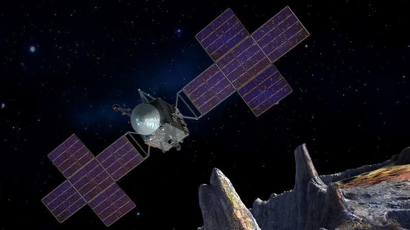 NASA construye nave para explorar el asteroide rico en metales preciosos de miles de billones