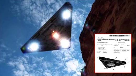 patente del ovni triangular es ahora de dominio publico