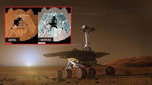 quien esta limpiando los rovers marcianos de la nasa