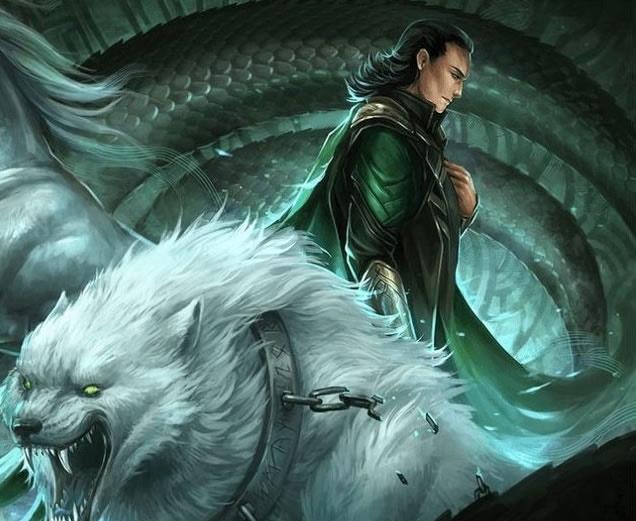 5 extranas criaturas de la mitologia nordica lobos gigantes serpientes cosmicas y mas