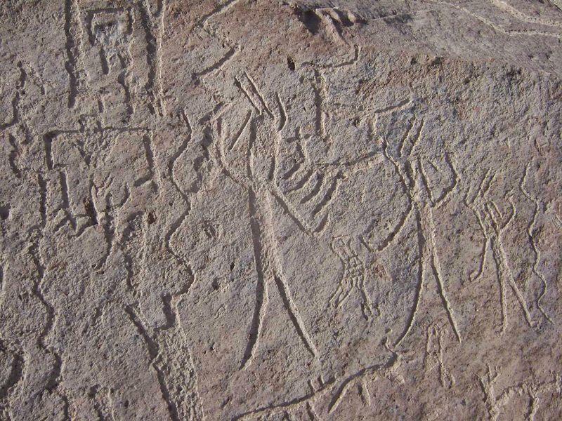 Alienígenas en el antiguo Perú: misteriosos petroglifos de «Toro Muerto»