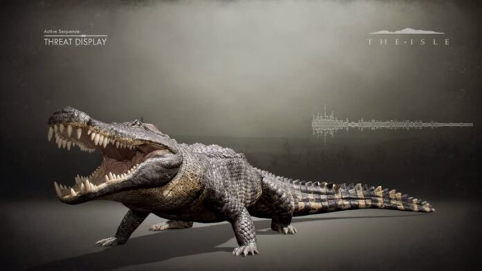 el cocodrilo del terror del cretacico que destrozaba dinosaurios con sus enormes dientes