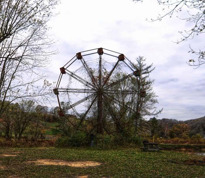 Lake Shawnee: parque de diversiones «maldito» y escenario de historias terroríficas