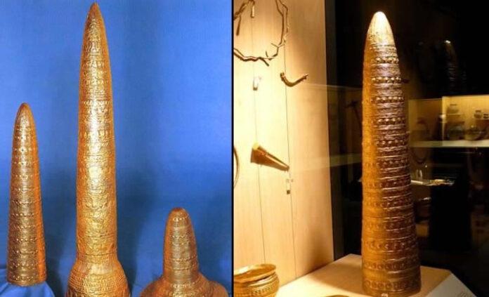 misteriosos sombreros conicos de 3 000 anos dispositivos avanzados de comunicacion