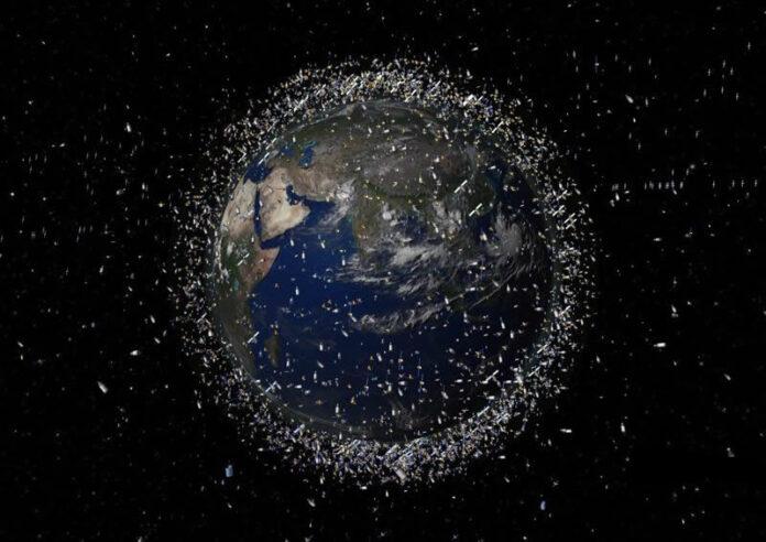 por primera vez cientificos observan desechos espaciales durante el dia en la orbita