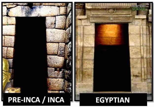 similitudes o conexiones incas y egipcios
