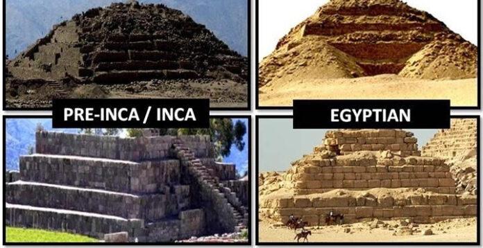 sorprendentes similitudes o conexiones entre las culturas inca y egipcia