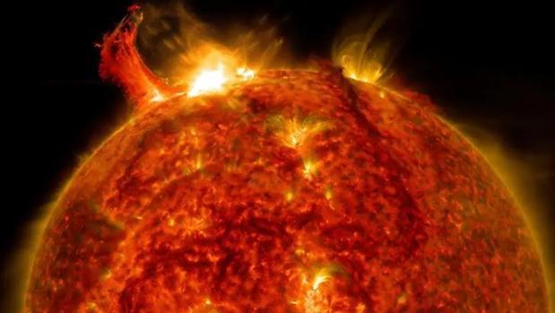 un nuevo metodo predice erupciones solares 20 horas antes de que se produzcan