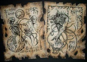 gran grimorio manuscrito escrito por satanas y celebrado en el vaticano