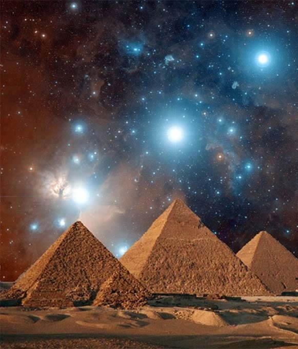 la enigmatica alineacion estelar de las piramides de egipto